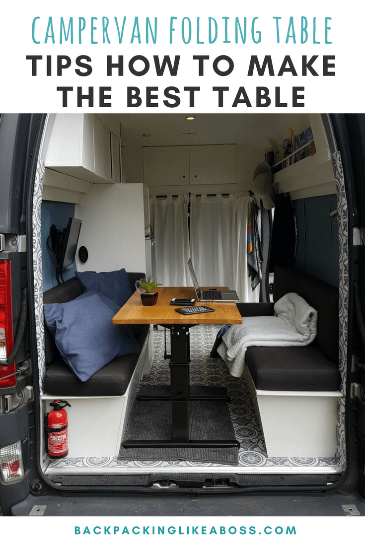 Campervan Folding Table