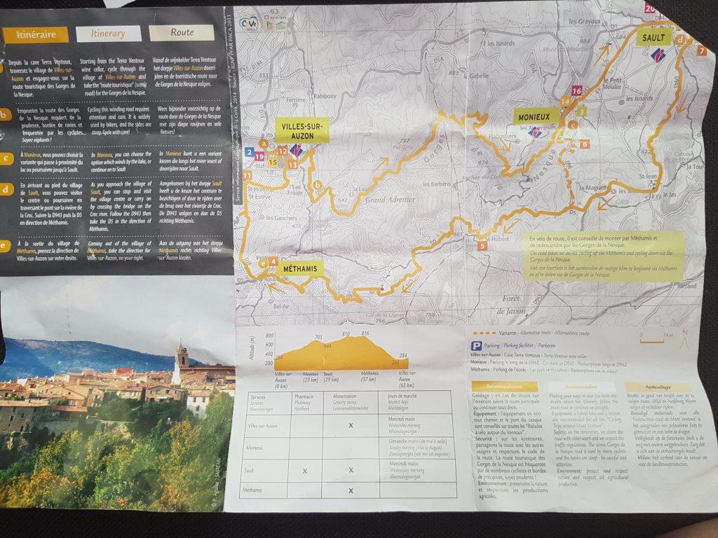 Cycling the Gorges de la Nesque Mont Ventoux