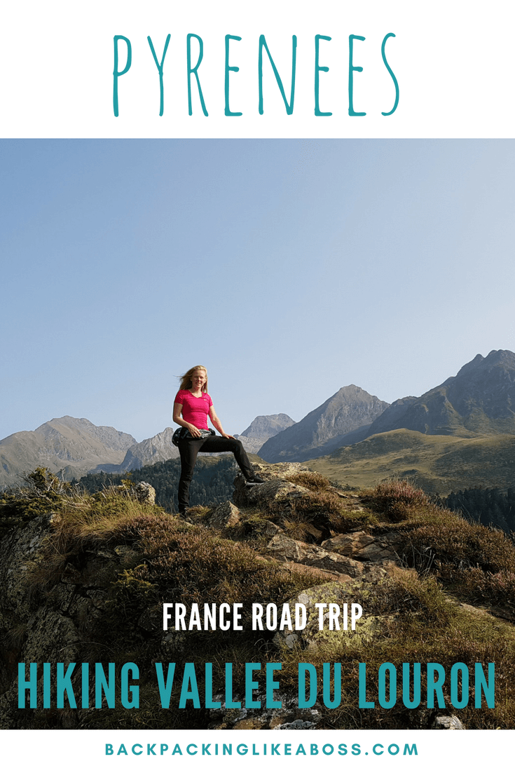 Hiking Vallee du Louron in Pyrenees France