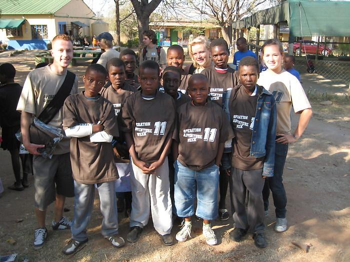 Volunteering in South Africa action week